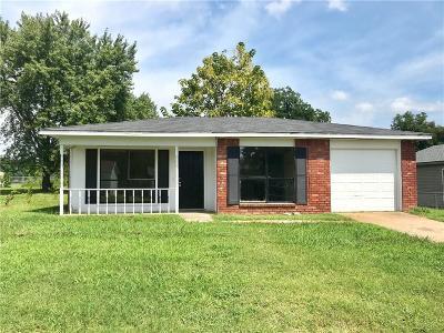 Van Buren Single Family Home For Sale: 1025 Rickey CIR