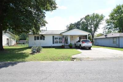 Sallisaw Single Family Home For Sale: 808 E Mary AVE