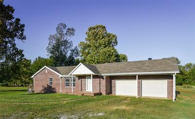 Muldrow Single Family Home For Sale: 475733 Old 64 HWY