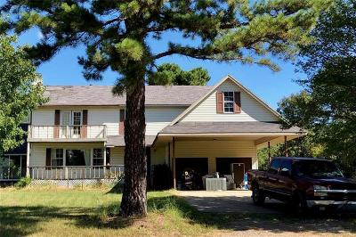 Heavener Single Family Home For Sale: 16850 State Highway 128