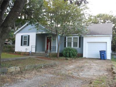 Fort Smith AR Single Family Home For Sale: $69,500