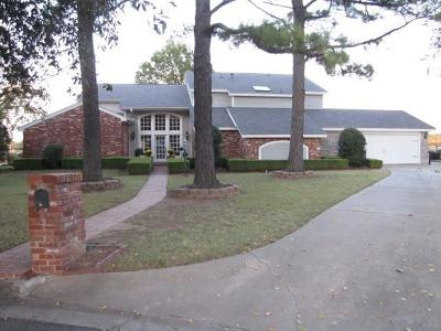 Hackett Single Family Home For Sale: 3001 Edgewater COVE