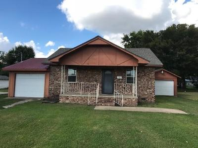 Spiro Single Family Home For Sale: 212 NW 2nd ST