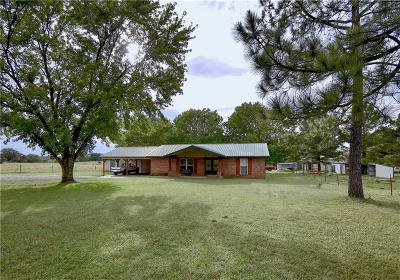 Muldrow Single Family Home For Sale: 110308 4700 RD