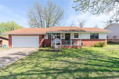Fort Smith AR Single Family Home For Sale: $86,000