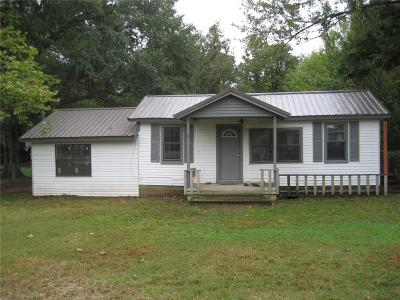 Muldrow OK Single Family Home For Sale: $59,900