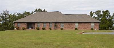 Poteau Single Family Home For Sale: 22606 Branson RD