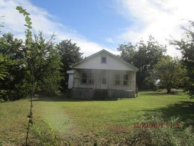 Poteau OK Single Family Home For Sale: $34,500