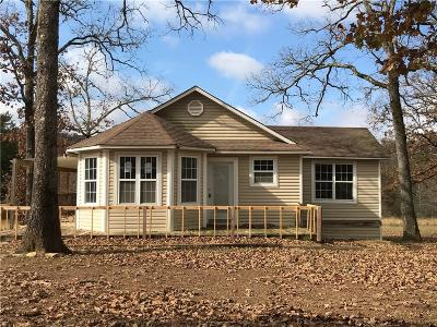 Muldrow OK Single Family Home For Sale: $97,000