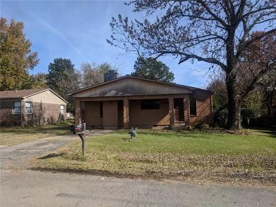 Fort Smith AR Single Family Home For Sale: $85,700