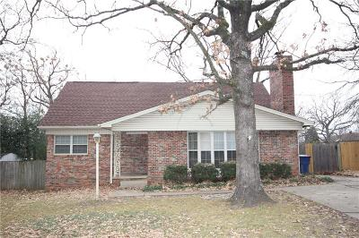 Fort Smith AR Single Family Home For Sale: $125,000