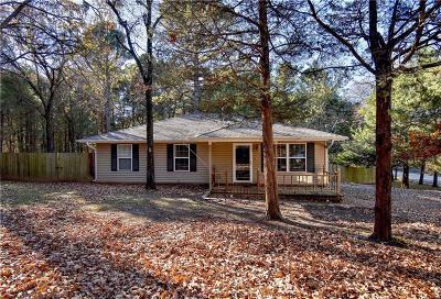 Van Buren Single Family Home For Sale: 5939 Cliffway DR