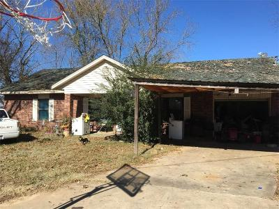 Spiro Single Family Home For Sale: 21606 Cannery RD