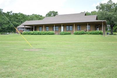 Sallisaw Single Family Home For Sale: 463274 E 1093 Road