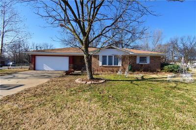 Sallisaw OK Single Family Home For Sale: $89,900