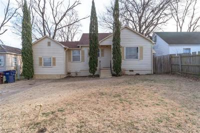 Fort Smith AR Single Family Home For Sale: $72,000
