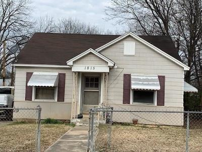 Fort Smith Single Family Home For Auction: 1815 N J ST