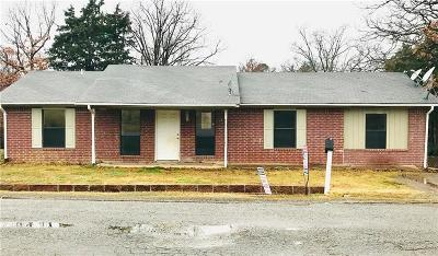 Poteau OK Single Family Home For Sale: $110,000