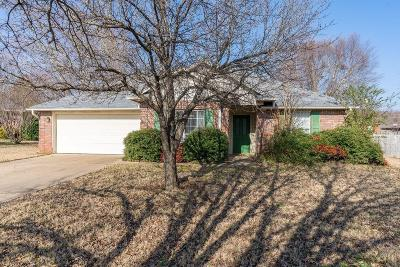 Greenwood Single Family Home For Sale: 2210 Cordova TER