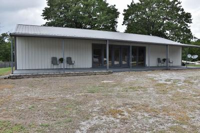 Sallisaw Single Family Home For Sale: S 4536 Road