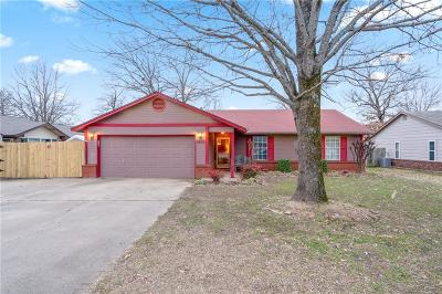 Fort Smith Single Family Home For Sale: 8620 South 15th