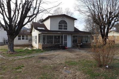 Mountainburg Single Family Home For Sale: 311 71 HWY