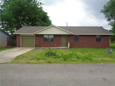 Poteau OK Single Family Home For Sale: $79,000