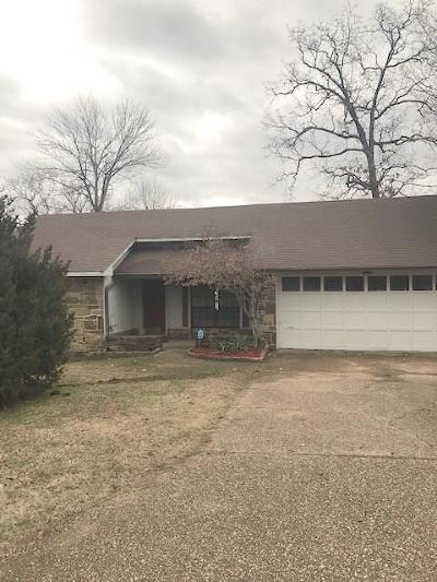 Fort Smith AR Single Family Home For Sale: $125,500