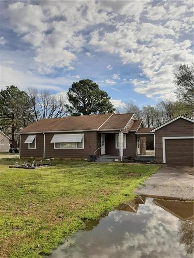 Heavener Single Family Home For Sale: 104 Highway 128