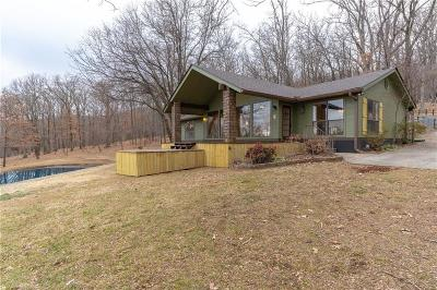 Mountainburg Single Family Home For Sale: 17911 Cartwright Mountain RD