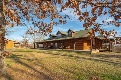 Sallisaw OK Single Family Home For Sale: $875,000