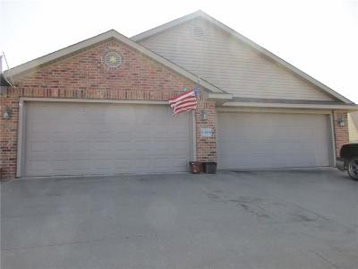 Alma Multi Family Home For Sale: 2107 A & B Plum Creek LN