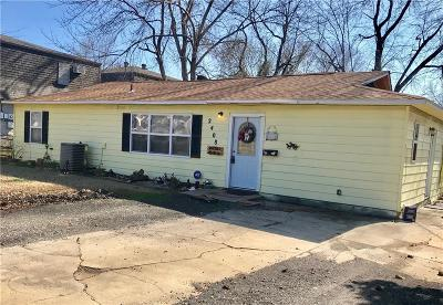 Fort Smith AR Single Family Home For Sale: $89,000