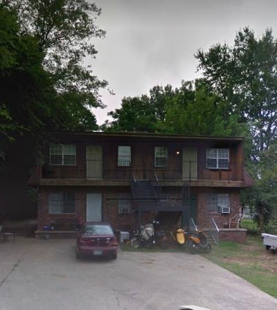 Fort Smith AR Multi Family Home For Sale: $94,000