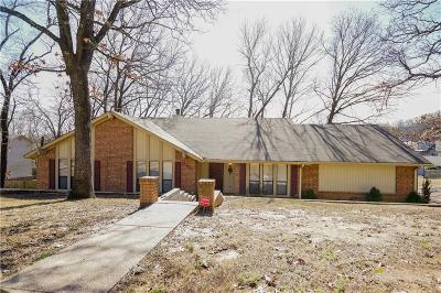 Fort Smith AR Single Family Home For Sale: $159,500