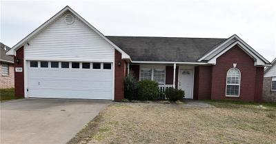 Fort Smith AR Single Family Home For Sale: $135,000