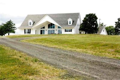 Heavener Single Family Home For Sale: 48000 Baldknob LN
