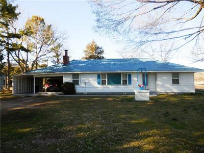 Poteau Single Family Home For Sale: 33027 Pleasant Valley RD