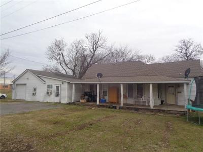 Heavener OK Single Family Home For Sale: $59,900