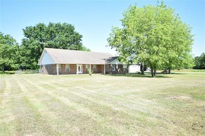 Muldrow Single Family Home For Sale: 114150 S 4710 RD