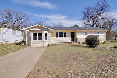 Fort Smith AR Single Family Home For Sale: $123,000