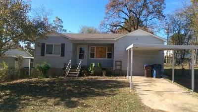 Fort Smith AR Single Family Home For Sale: $77,500
