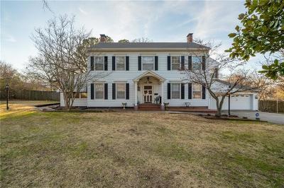 Fort Smith Single Family Home For Sale: 1510 Hendricks BLVD