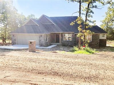 Poteau Single Family Home For Sale: 34411 Berryfrost LN