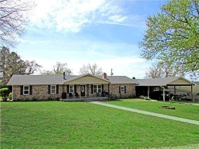 Muldrow Single Family Home For Sale: 474344 E 1080 RD