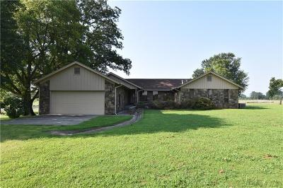 Muldrow Single Family Home For Sale: 474628 E 1140 RD