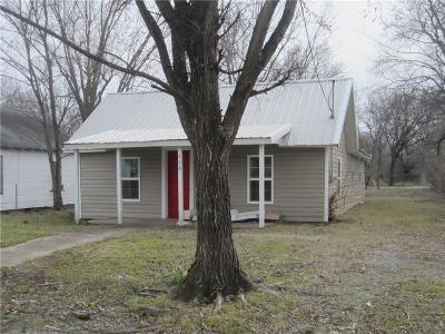Stigler Single Family Home For Sale: 506 SE B ST