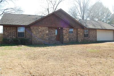 Fort Smith AR Single Family Home For Sale: $163,500