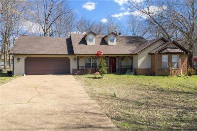 Greenwood Single Family Home For Sale: 556 Caperton LOOP