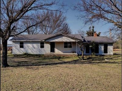Stigler Single Family Home For Sale: 30855 W County Road 1260